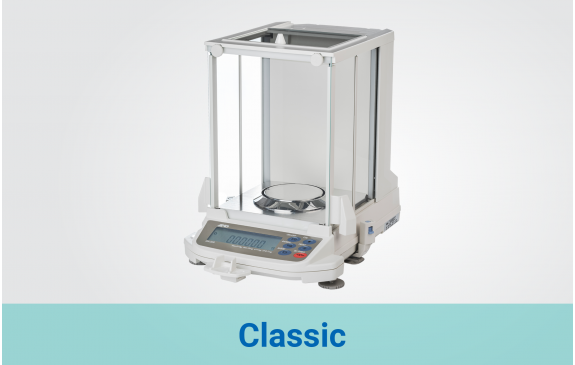 Classic Analytical balances