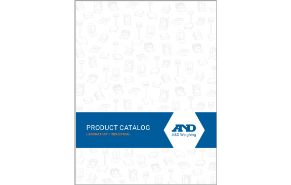 A&D Weighing Product Catalog