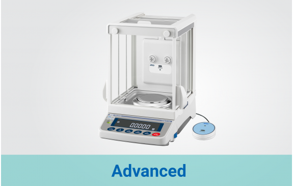 Advanced Analytical Balances